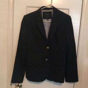 Black J. Crew Schoolboy blazer size 6